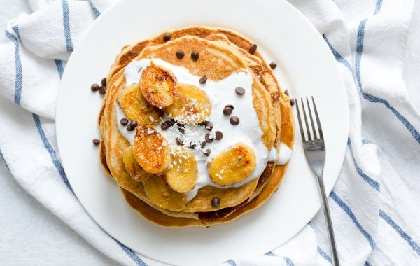 Pancakes au chocolat Kinder