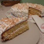 Gâteau moelleux coco citron vert