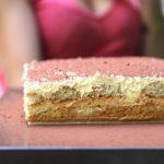 Gâteau de tiramisu au caramel