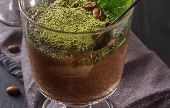 Fondant très chocolat au thé Matcha