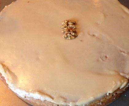 Gâteau aux noix et au café de mon enfance