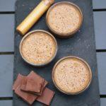 Mousse au chocolat et caramel au beurre salé