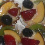 Tarte aux fruits à la crème