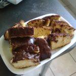 Barres bananes chocolat