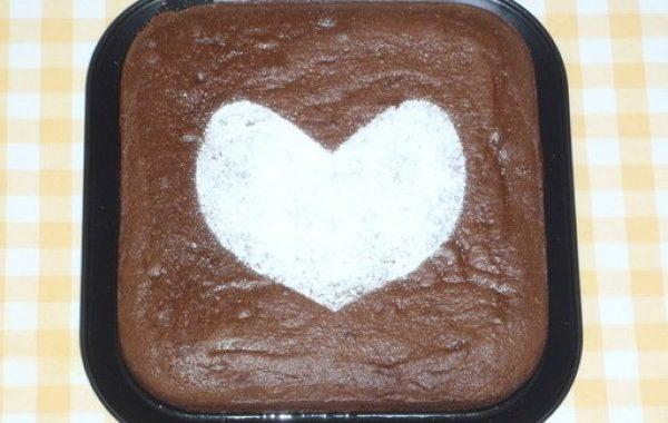 Pavé au chocolat à la poudre d'amandes