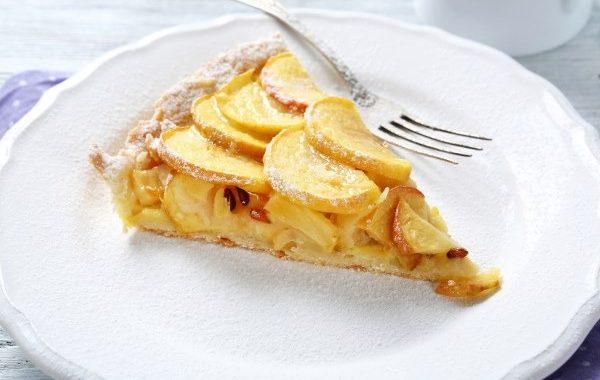 Tarte moelleuse aux pommes