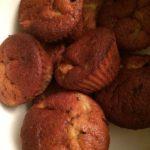 Muffins bananes et poires