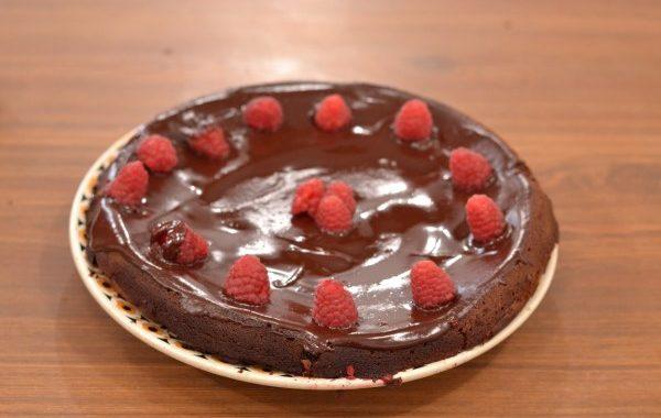 The fondant chocolat-framboise