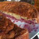 Gâteau enchanté à la mousse de framboises