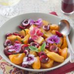Salade de fruits d'été à l'huile d'olive