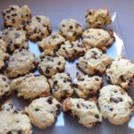 Cookies à la noix de coco et aux amandes éffilées