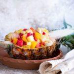 Salade des îles aux fruits exotiques