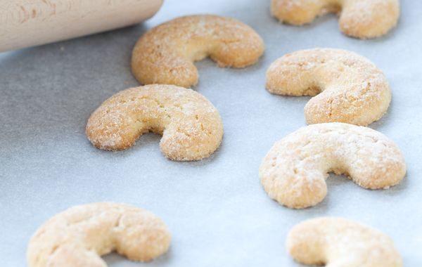 Vanillekipferl (biscuits kipferl à la vanille)