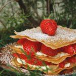 Millefeuille léger aux fraises et au mascarpone