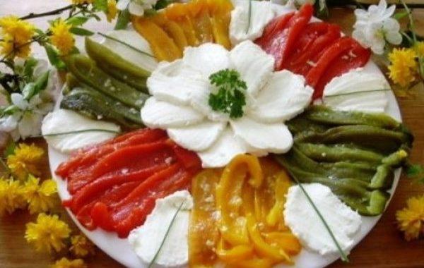 Salade de poivrons grillés à la feta