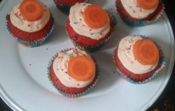 Cupcakes carotte aux épices sucrés et salés