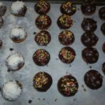 Petits cakes avec glacage