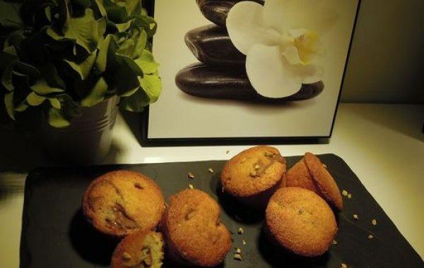 Mini Muffins oranges clémentines coeur nutella