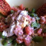 Salade de pois gourmands à l'oeuf