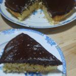 Gâteau noix de coco et chocolat façon congolais