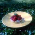 Délice de fraises et chantilly
