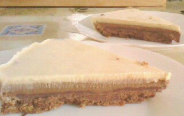 Tarte croustillante aux 3 chocolats