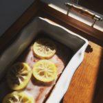 Cake glacé au citron et au miel