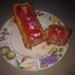 Cake aux fraises et coulis