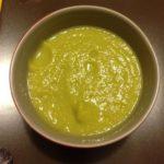 Soupe poireaux et topinambours