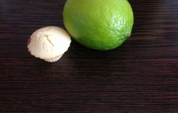 Mini-muffin au citron vert