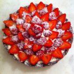 Tarte aux fraises de Véronique Et La Chouquetterie
