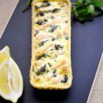 Tarte saumon et épinards