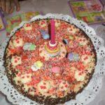 Biscuit d'anniversaire pour les enfants