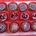 Cupcakes poire chocolat