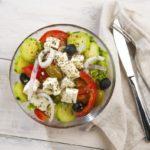 Salade grecque très rapide