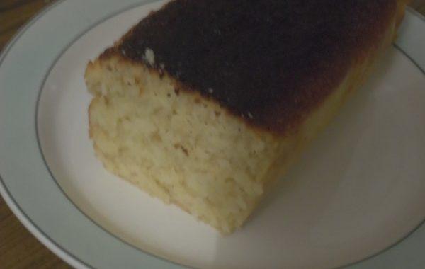 Cake coco gingembre