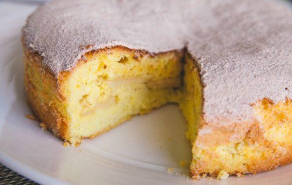 Cake au yaourt pomme-citron