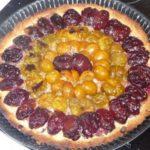 Tarte aux prunes et aux noisettes
