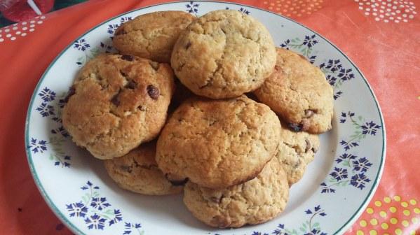 Cookies 3 chocolats au sirop d'érable