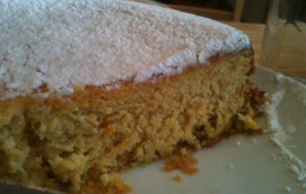 Gâteau simple aux oranges et amandes