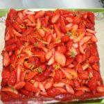 Tarte biscuitée aux fraises