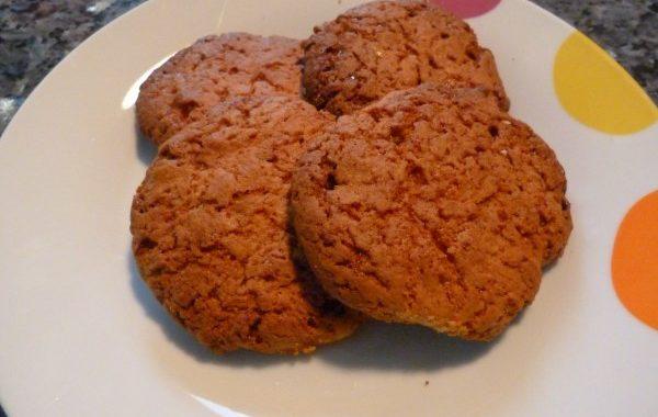 Cookies aux caramels durs