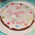 Gâteau chocolat et amandes vanillé