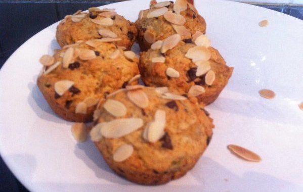 Muffins poire et chocolat