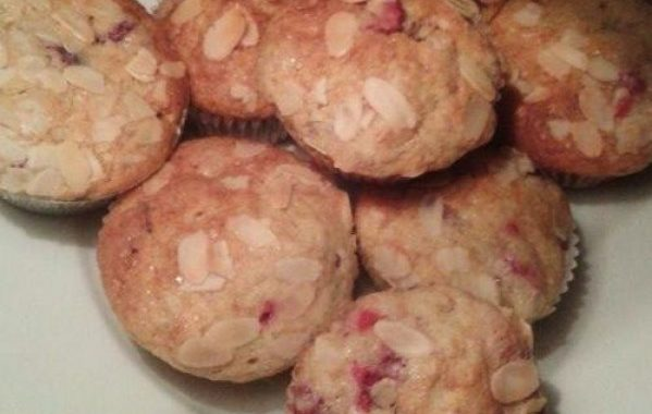 Muffins cranberries et amandes