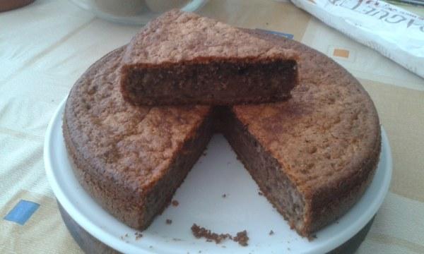 Gâteau aux amandes et aux noix