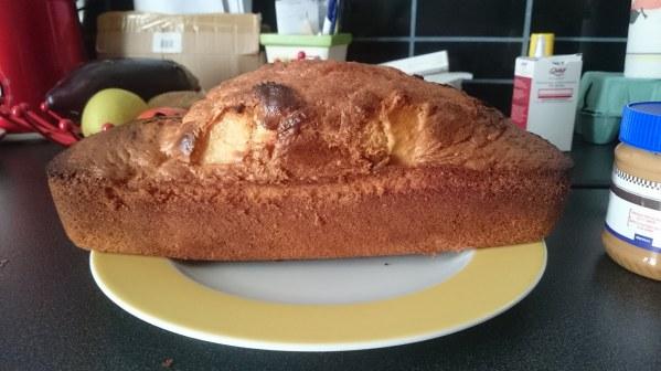 Gâteau au yaourt vanille et pomme