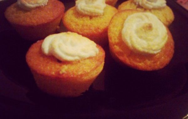 Muffins au citron meringués