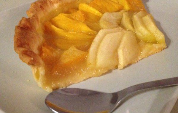 Tarte mangue et pomme
