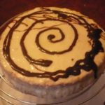 Gâteau nappage au chocolat blanc